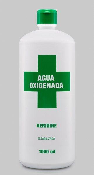 Agua Oxigenada 1000 ml Heridine