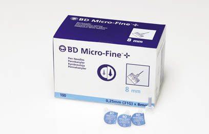 Microfine Aguja BD 31 Gr 0