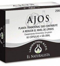 Comprar El Naturalista Ajos 60 Cáps