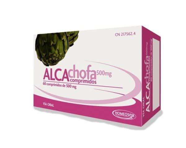 Comprar Homeosor Alcachofa 500 mg 60 Comprimidos