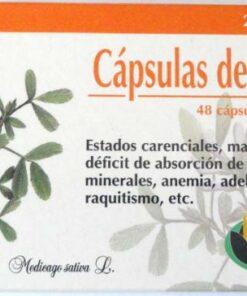 Comprar Homeosor Alfalfa 320 mg 48 cápsulas