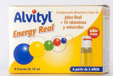 Alvityl Energy Real 8 Frascos