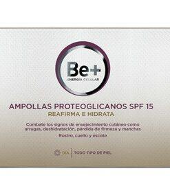 Ampollas Proteoglicanos Be+ SPF 15 - Reafirma e Hidrata la Piel