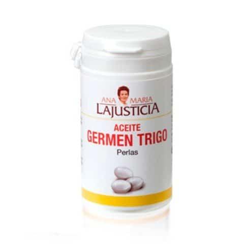 Ana Maria Lajusticia Aceite Germen de Trigo 90 Perlas- Favorece el mantenimiento de los tejidos