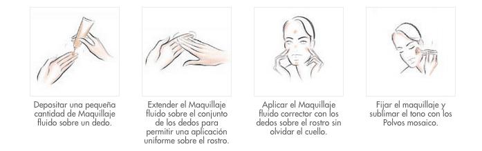 Maquillaje Facial y Escote