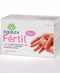 Aquilea Fértil Mujer 30 sobres - Fertilidad y Reproducción Normales