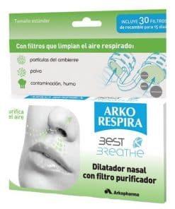 Arko Respira 30 filtros nasales - Elimina partículas nocivas en el aire