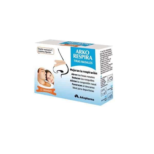 Arko Respira tiras nasales (tamaño grande)