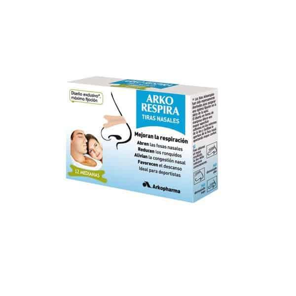 Arko Respira tiras nasales (tamaño mediano)