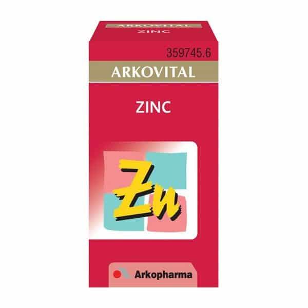 Comprar Arkovital Zinc 50 cápsulas - Protección Celular
