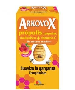Arkovox Pastillas sabor frutas del bosque