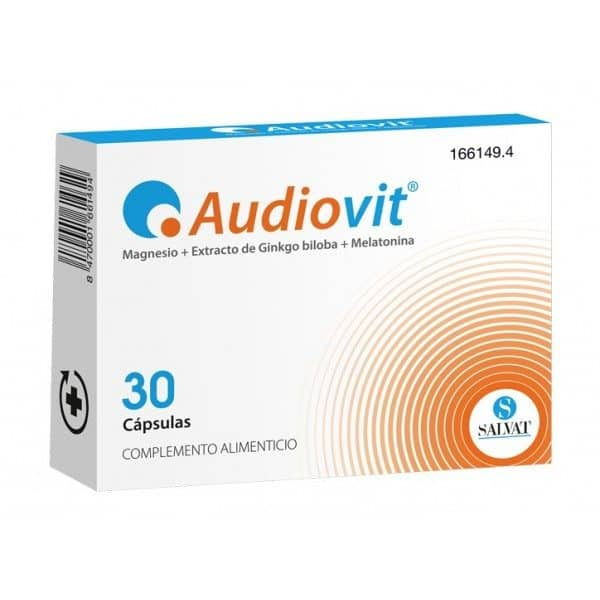 Comprar Audiovit 30 Capsulas - Complemento Alimenticio para la Función Auditiva