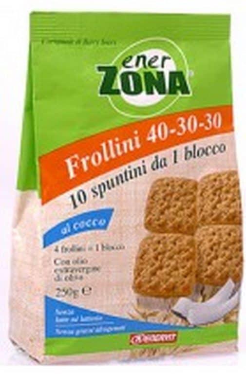 Comprar Enerzona Galletas de Avena 40-30-30  Bolsa de 40 uds 250 gr- Aportan Hidratos de Carbono