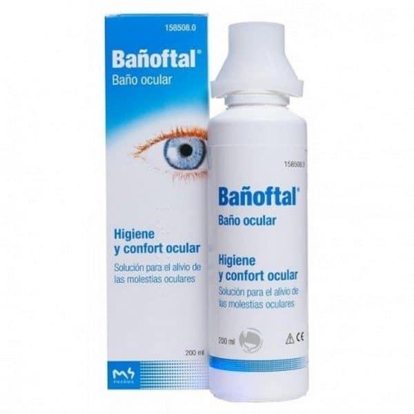 Comprar Bañoftal Baño Ocular 200 ml - Higiene y Confort Ocular
