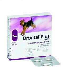 Comprar Drontal Plus Perros 2 Comp