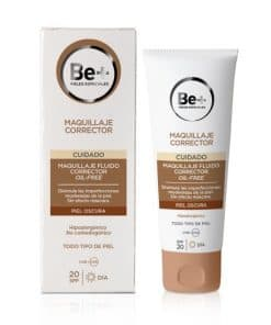 Comprar Be+ Maquillaje Corrector Fluido SPF 20 Piel Oscura 40 Ml