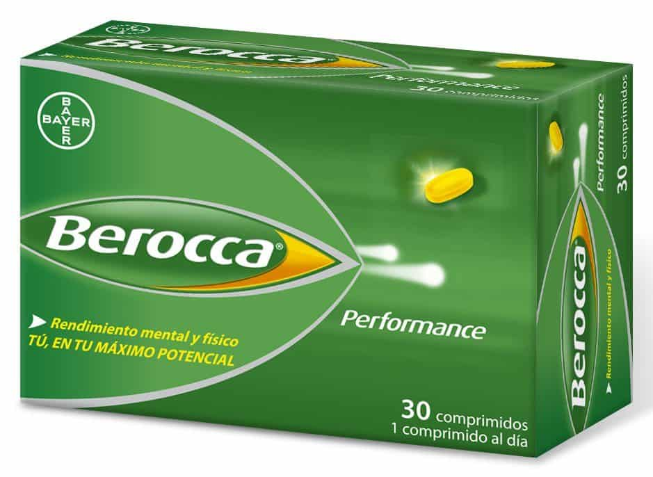 Berocca Performance 30 Comprimidos - Multivitaminico