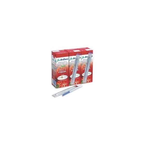 Comprar Bi-Oralsuero Fresa Pack 3 Bricks de 200ml
