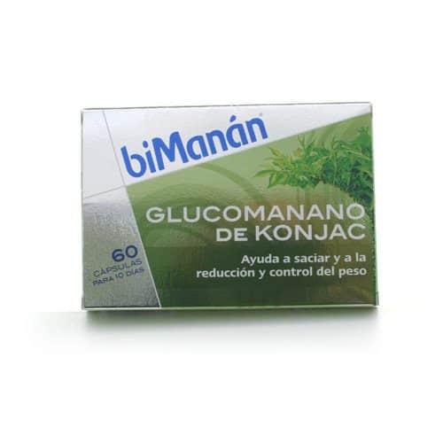 Comprar Bimanán Glucomanano Konjac 60 Cápsulas