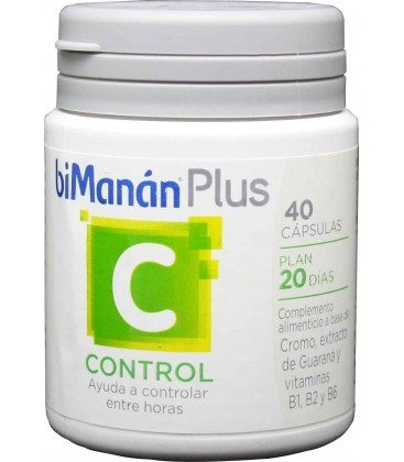 Comprar Bimanán Plus C (Control) 40 Cápsulas