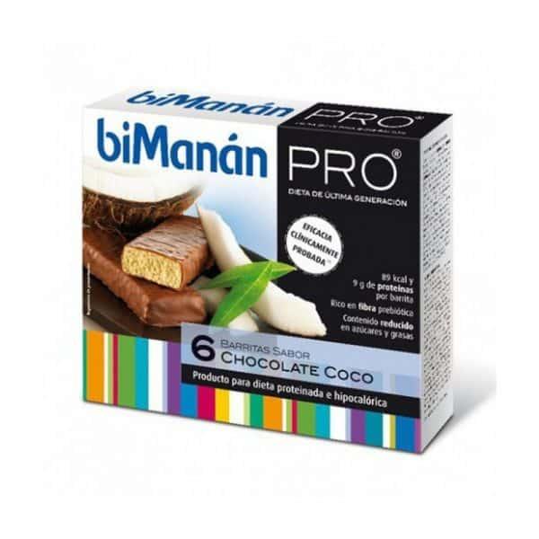 Comprar Bimanán Pro Barrita Choco Coco 6 u x 27 g