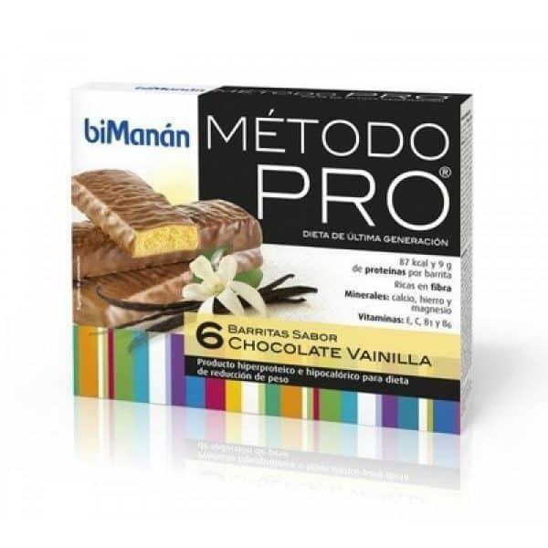 Comprar Bimanán Pro Barritas Choco-Vainilla 6 U