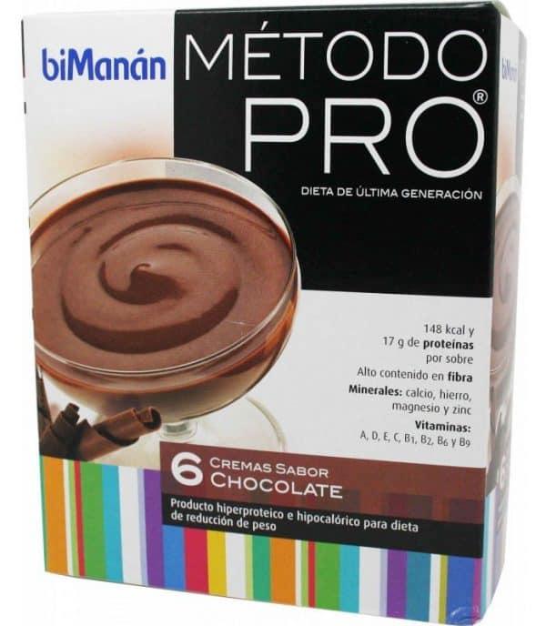 Comprar Bimanán Pro Crema Chocolate 6 sobres