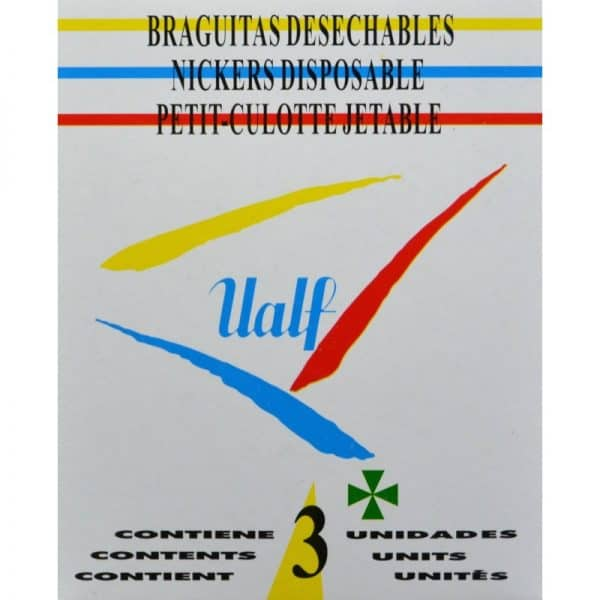 Braguitas Desechables Ualf Grande 3 Unidades