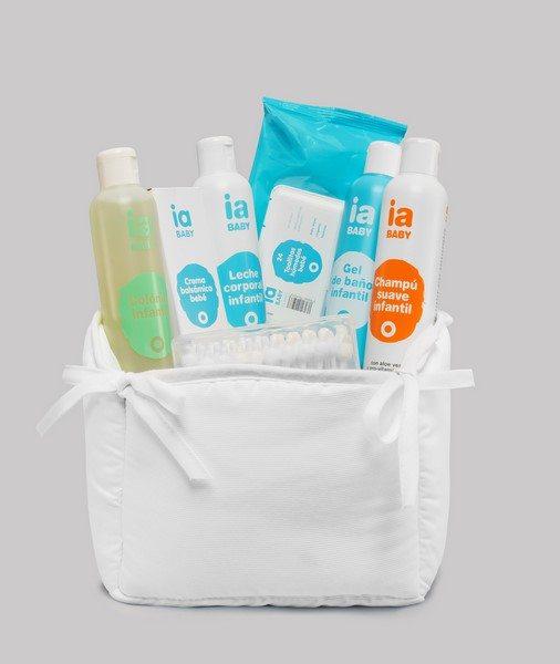 Canastilla para Bebé con Pack Especial Higiene de Interapothek