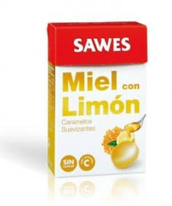 Comprar Sawes Caramelos Miel Limón S/Azúcar Caja