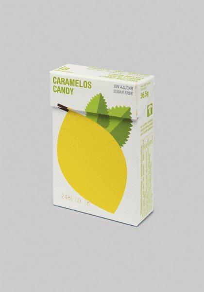 Caramelos Sin Azúcar 36.5 gr Sabor a Limón y Melissa Balmelos