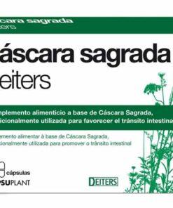 Comprar Cascara Sagrada Deiters 200 mg 60 Cáps - Favorece el Tránsito Intestinal
