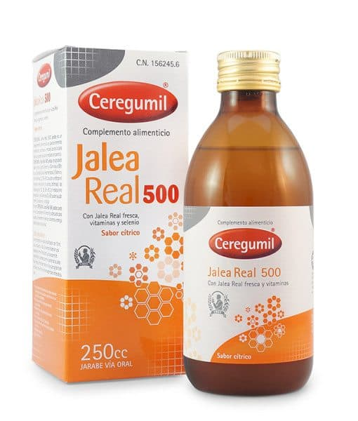 Ceregumil Jalea Real 500 Vitaminas Jarabe 250 ml