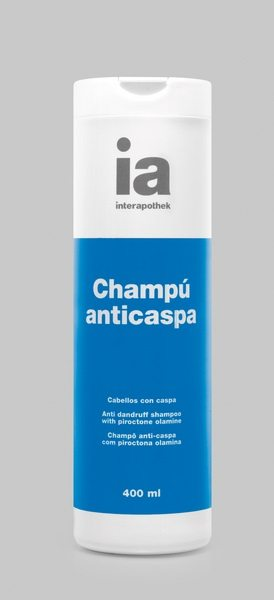 Champú Anticaspa 400 ml Interapothek