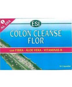 Comprar Colon Cleanse Flor Esi 30 Cápsulas - Acción Sinérgica para Problemas Intestinales