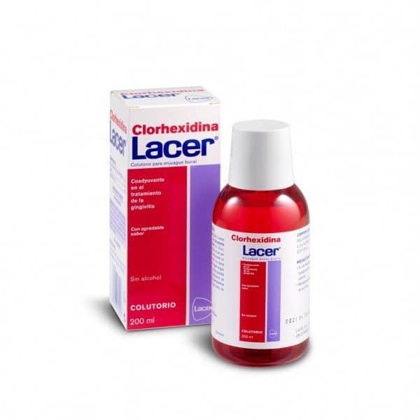 Comprar Lacer Colutorio Clorhexidina 200 ml - Tratamiento Coadyuvante en Gingivitis y Periodontitis Tamaño Viaje