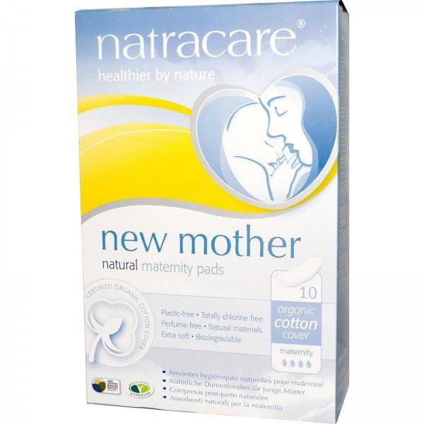 Comprar Compresa Post - Parto Natracare 10 Unidades Son ideales para absorber los líquidos producidos tras el parto.