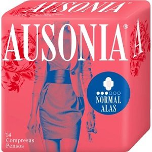 Compresas Ausonia Air Dry Alas Normal 14 Unidades