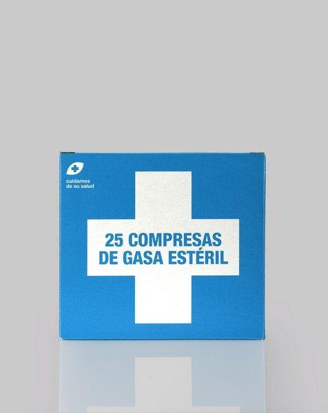 Compresas de Gasa Estéril 25 Unidades de Interapothek