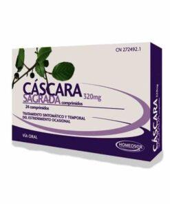 Comprar Homeosor Cáscara Sagrada 400 mg 24 Comprimidos - Estreñimiento y Hemorroides