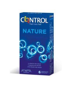 Comprar Control Adapta Nature 6 Preservativos - Máxima Adaptabilidad