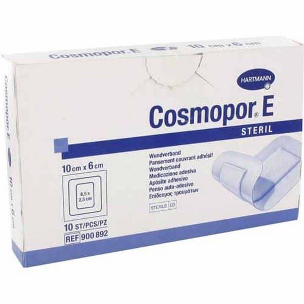 Comprar Cosmopor E 10X6 cm 10 Unidades Apósitos - Gasa Adhesiva Antibacteriana con Plata