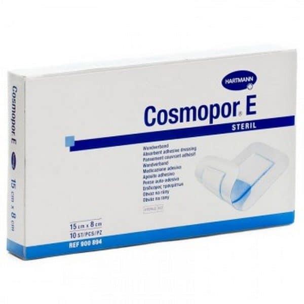 Comprar Cosmopor E 15X8 cm 10 Unidades Apósitos - Gasa Adhesiva Antibacteriana con Plata