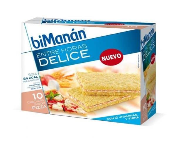 Comprar Bimanán Entre Horas Crackers Pizza 10 unidades