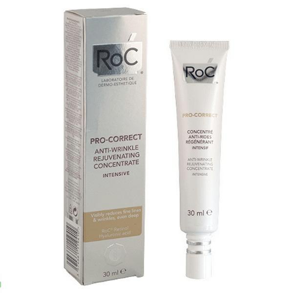 Comprar Roc Pro-Correct Concentrado Antiarrugas Rejuvenecedor Intensivo 30 ml - Reducir Líneas de Expresión y Arrugas Profundas