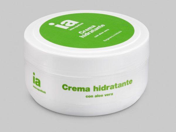 Crema Hidratante 200 ml con Extracto de Aloe Vera de Interapothek