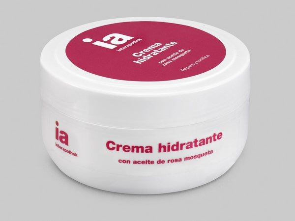 Crema Hidratante Corporal 200 ml con Extracto de Rosa de Mosqueta de Interapothek