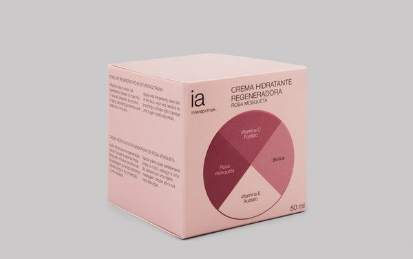 Crema Rosa Mosqueta 50 ml Hidratante Regeneradora de Interapothek