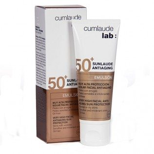 Comprar Sunlaude SPF 50 Antiaging Emulsión 50 Ml