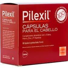 Pilexil 100 Cápsulas - Complemento Alimenticio Anticaida Del Cabello